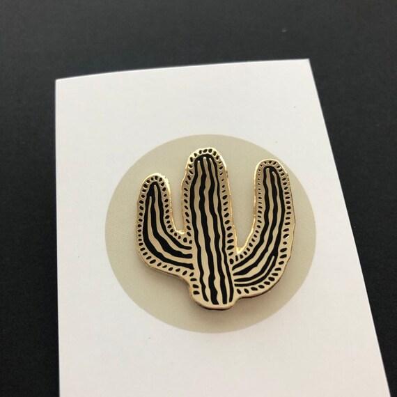 Cactus Hard Enamel Pin