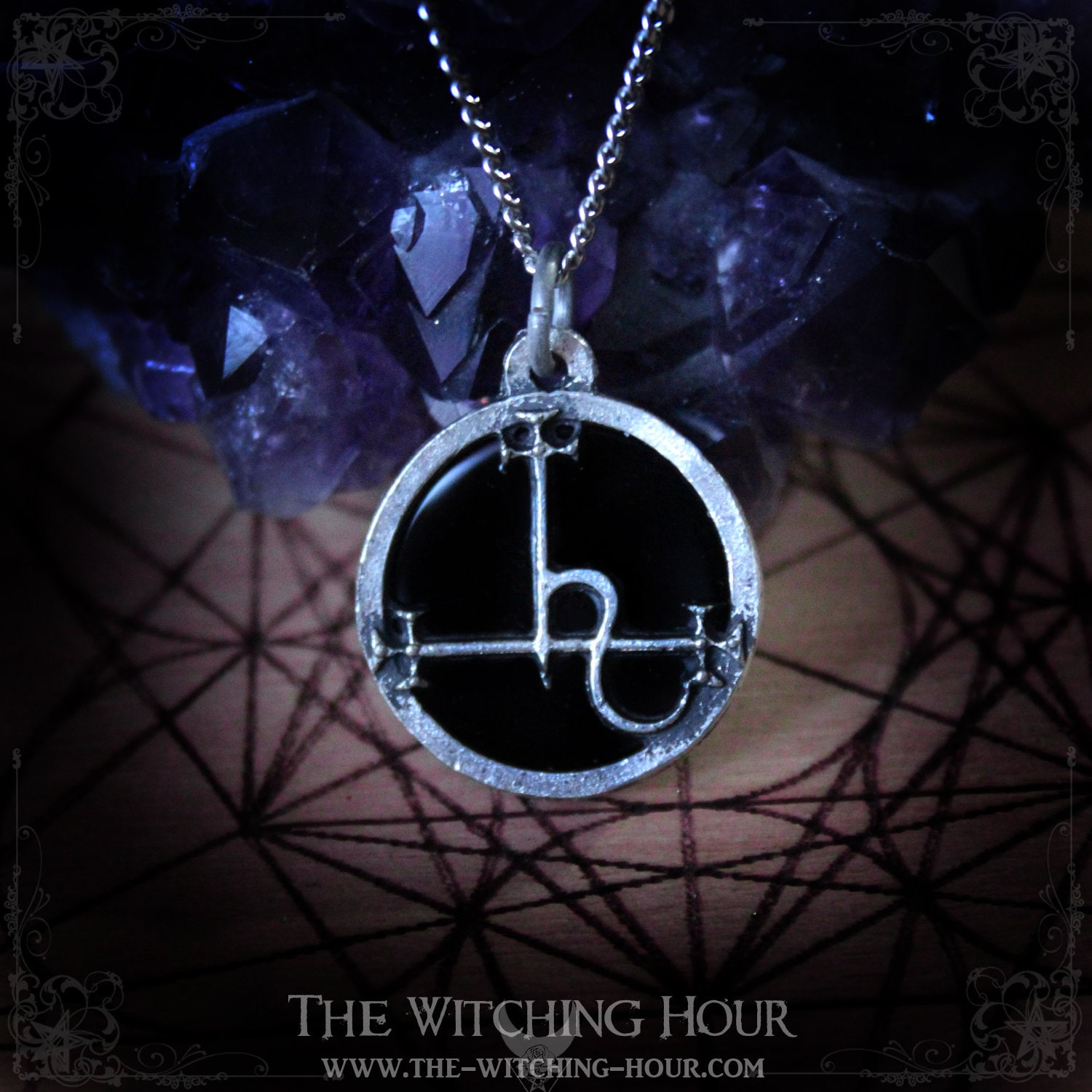 bdd0f96592c0 Sigil of Lilith pendant seal of Lilith necklace with
