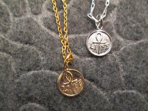Vintage Ank Necklace Item K # 2356