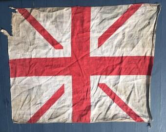fea207d7c34a WW1 Faded Union Flag  Union Jack  British Flag.