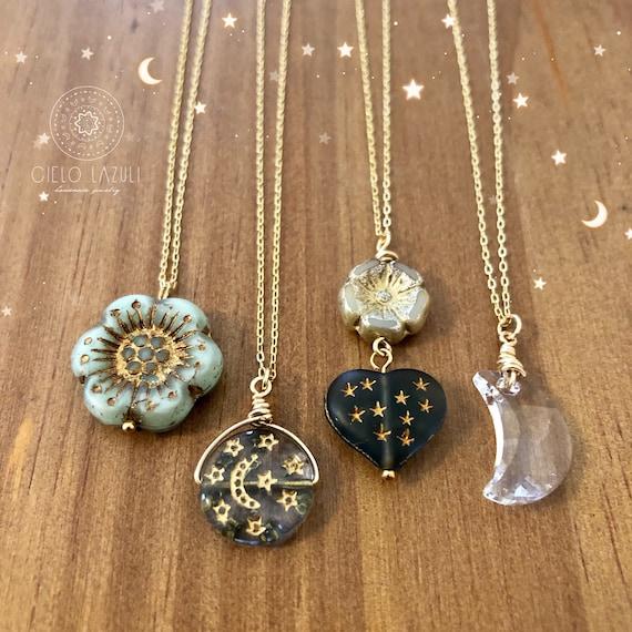 Celestial Garden Necklace /& Earrings Gift Set