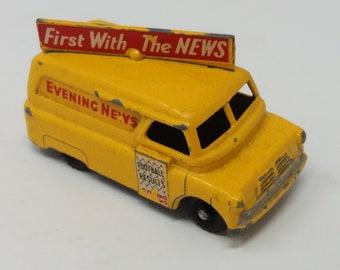 Lesney Matchbox series number 42 evening news van