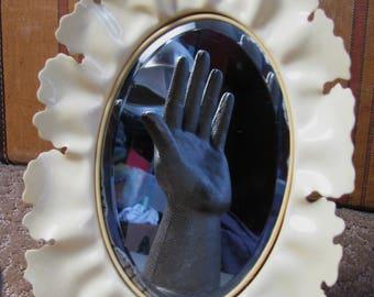 Antique Celluloid Vanity Mirror