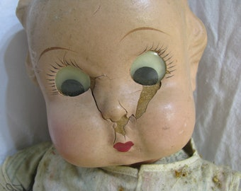 Very Old and Deranged Creepy Baby