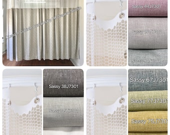 Office curtains Etsy