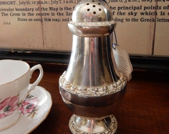 A Vintage Silver Plate Sugar Sifter, With Original box,Retro, Boho, Shabby Chic,Tearoom