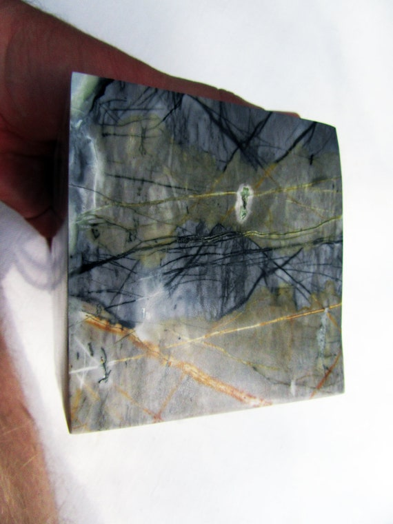 Utah Picasso Marble Polished on 6 sides cube square  Picasso Stone or  Picasso Jasper
