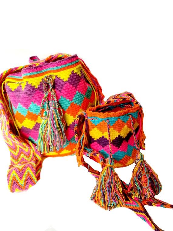 Body Bag Met Design StrapTwee Colombiaanse Mochila Chevron En BagGrote Dochtergratis Moeder Zakken Cross Wayuu Sleutelhanger Beach Xkn0OwZNP8