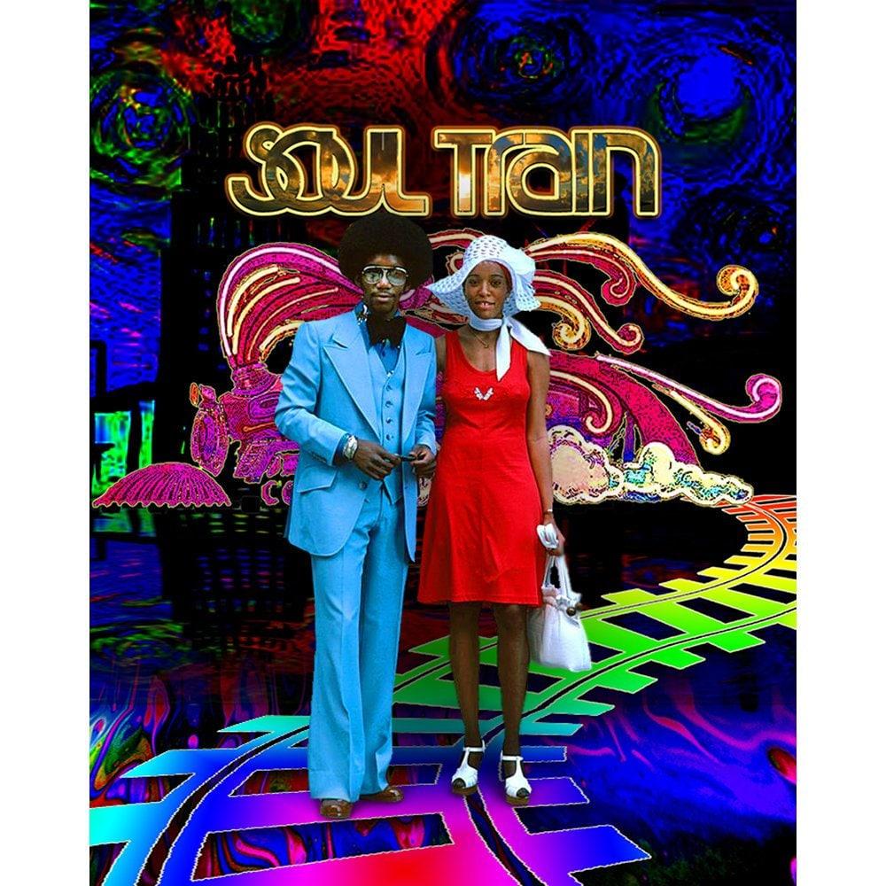 Soul Train TV Show Photo Backdrop Soul Train Chic Party