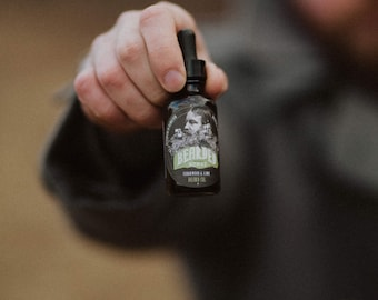 Cedarwood and Lime Beard Oil