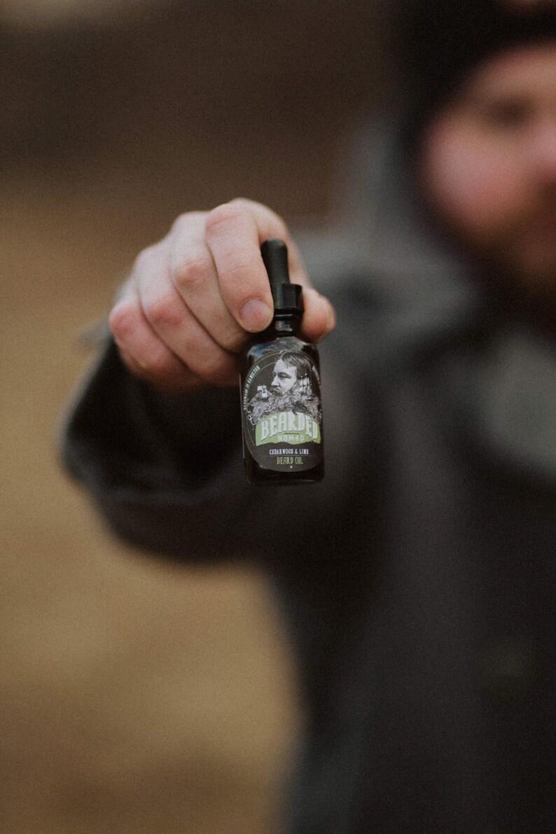 Cedarwood and Lime Beard Oil image 0