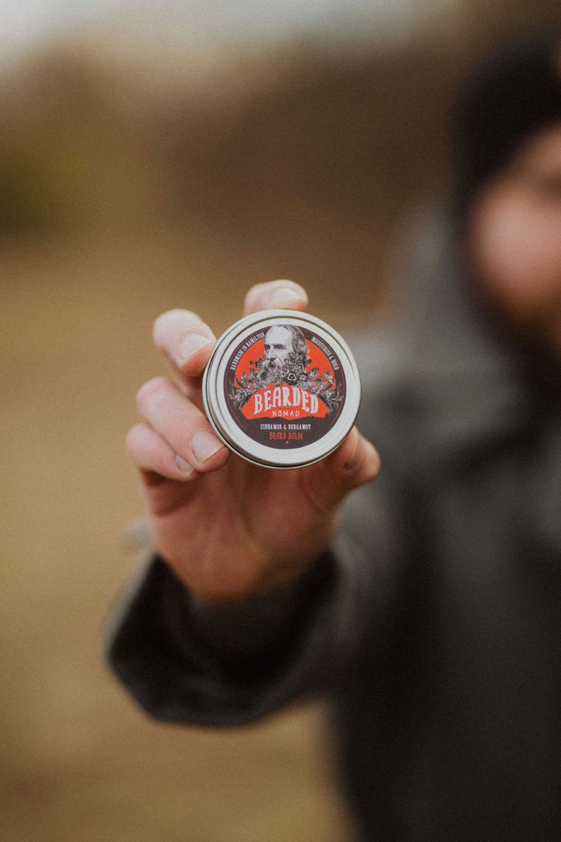 Bearded Nomad's Cinnamon and Bergamot Beard Balm image 0