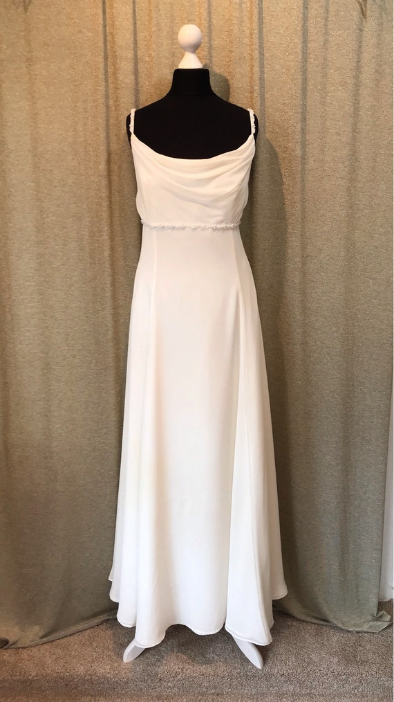 18 Line 16 Beautiful Vintage UK size Size Empire Plus Dress Wedding Oxxqpva