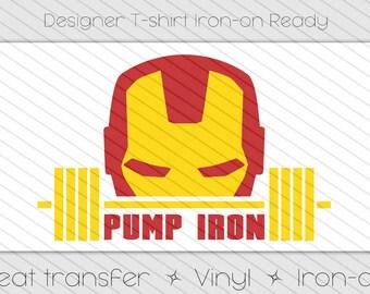 Deadlift Heat Transfer Vinyl Iron-on T-shirt Deadpool Marvel | Etsy