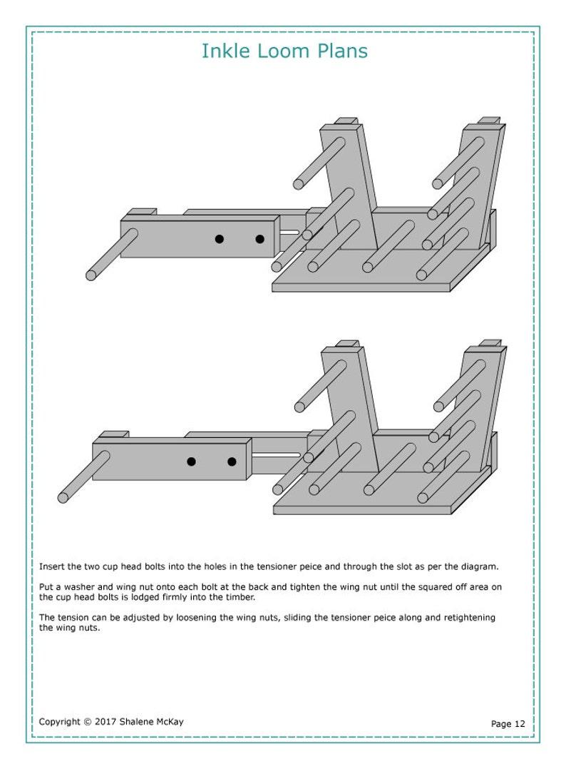 Inkle Loom Plans
