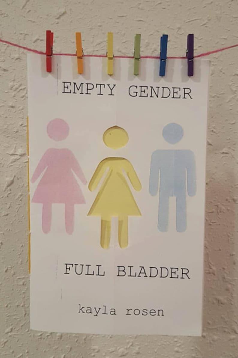 Empty Gender Full Bladder zine about all-gender bathrooms  image 0