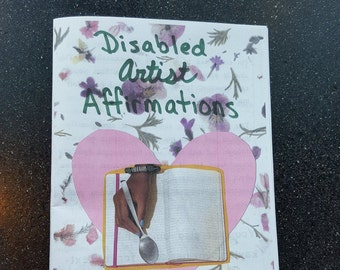 Disabled Artist Affirmations - Physical