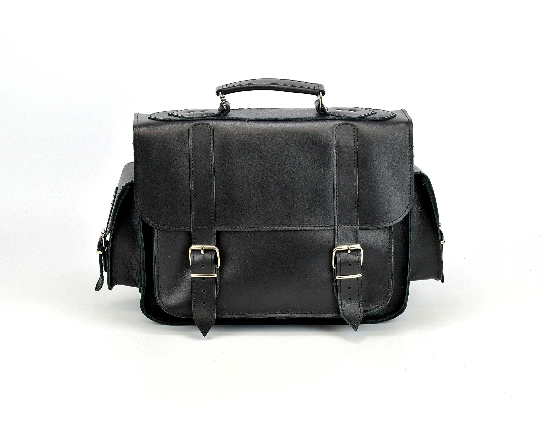cebf644d3329 FULL GRAIN LEATHER Messenger Bag / 13 inch Laptop Bag / Professional  Briefcase / Handmade in Greece