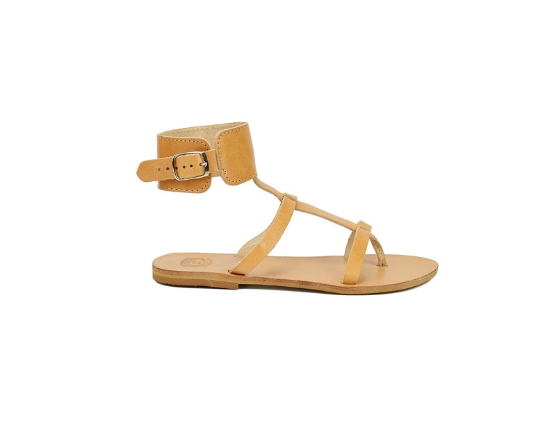 Summer By Ankle Sandals Greece Shoes Leather Leatherstrata4 Handmade In Available WomenHigh Colors For yb7Yvf6g