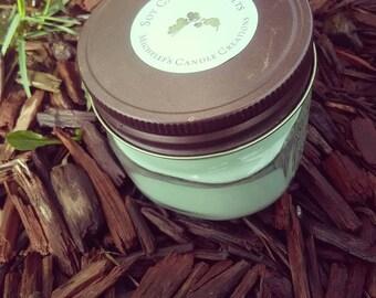Scoopable Wax , Scented Wax ,4 oz Mason jar,Lemongrass scented,,wax burners