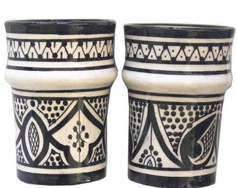 BELL & DEE cups - set of 2 BLACK