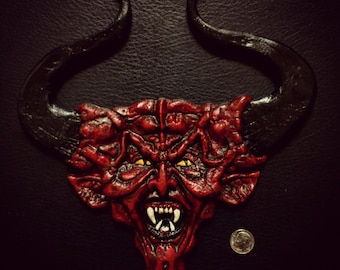 Horror Icons Series I Number I: Tim Curry Lord Darkness Magnet Wall Plaque