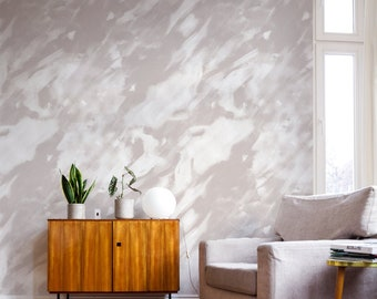 Abstract paint texture peel and stick wallpaper, Pale pink removable wallpaper, Abstract texture wall mural, Abstract wallpaper, WFL155