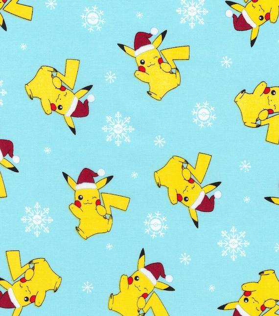 Christmas Pikachu.Christmas Holiday Pikachu Hammocks Rat Hammocks Pet Hammocks Sugar Glider Hammocks Ferret Hammocks Christmas Hammock Pokemon Hammock