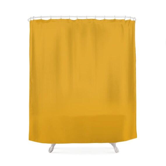 Rideaux de douche de couleur moutarde, 5 couleurs chaudes, rideau de ...