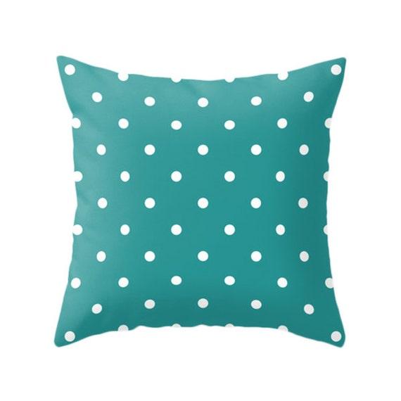 5 couleurs froides Options pois oreillers, coussin décoratif ...