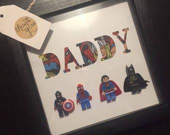 Personalised Superhero Frame