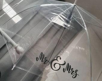 Personalised Wedding Umbrella