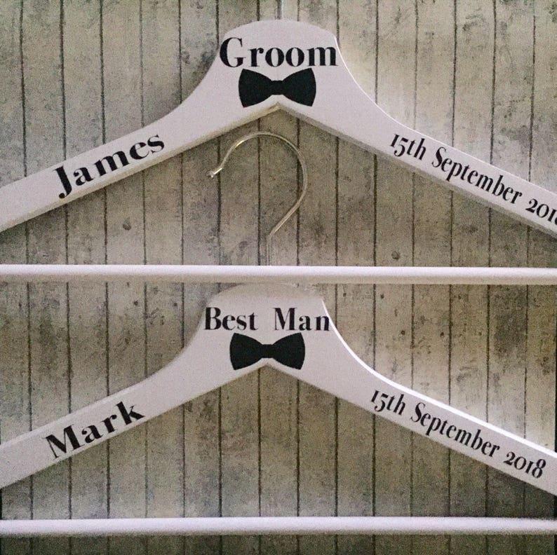 Groomsmen Bow tie Wedding Hanger