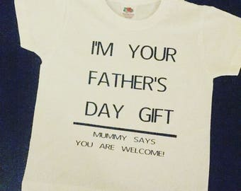 Children's Father's Day Gift T-Shirt