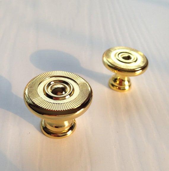 Gouden Knoppen Kast Knop Dressoir Knoppen Lade Trekt Behandelt Knoppen Keukenkast Pull Knoppen Meubelbeslag