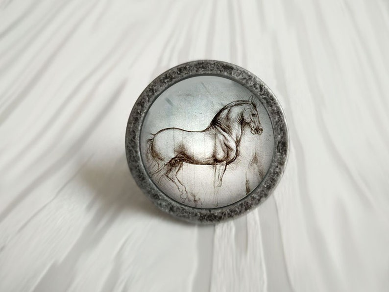 Horse Drawer Knobs Pulls Handles Kitchen Cabinet Knob Etsy