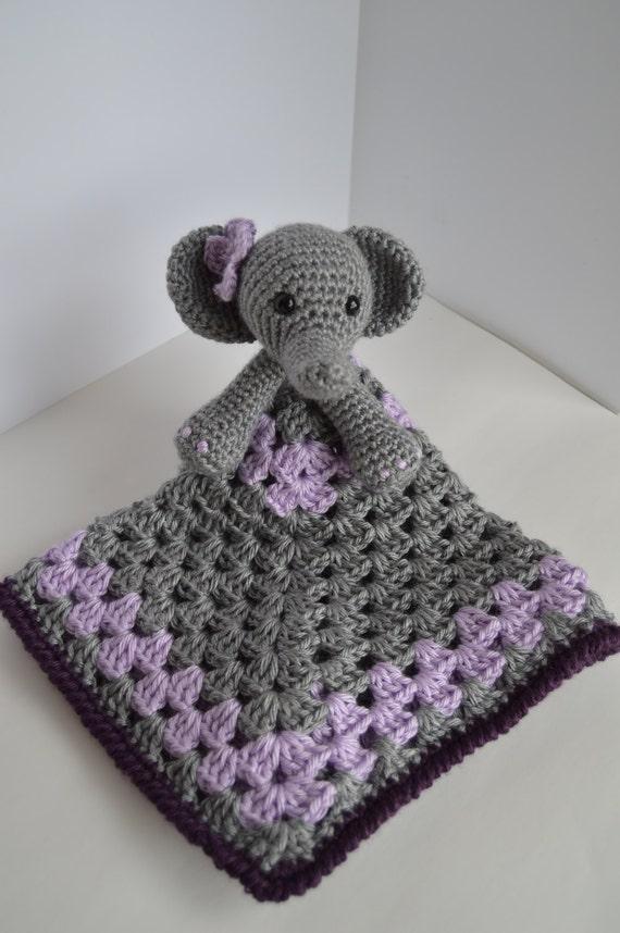 Häkeln Elefant Deckchen häkeln Baby-Mädchen-Decke | Etsy