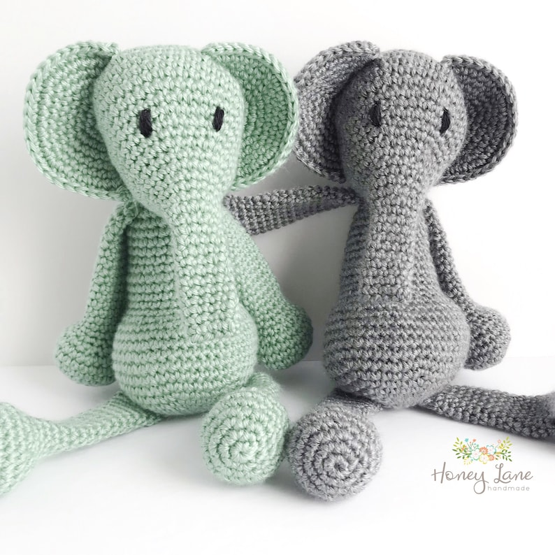 The Sweetest Crochet Elephant Patterns To Try | The WHOot | 794x794