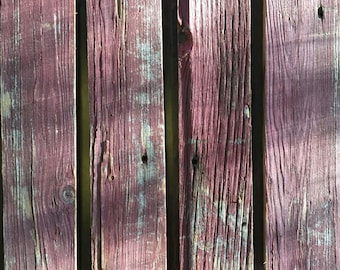 """Raw Reclaimed Barn Wood Material: 4 pieces (19.25"""" long x 4"""" wide)"""