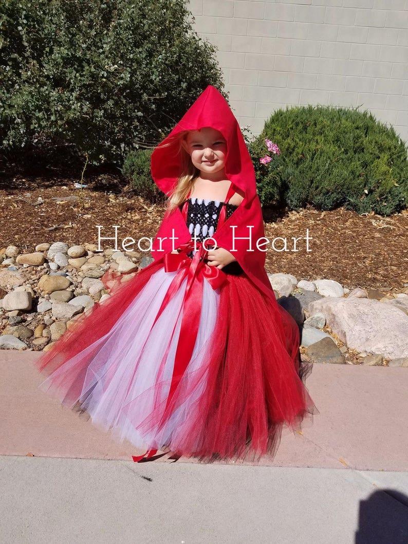 Red Riding Hood tutu