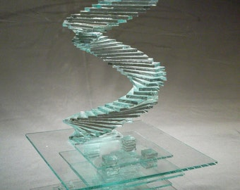 SPIRIT, learn how to build this glass sculpture with our step by step instructions