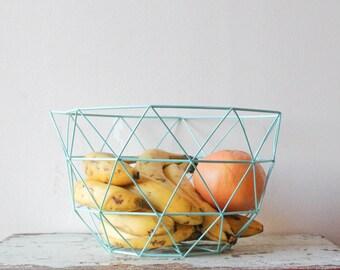 Geometric Fruit Basket