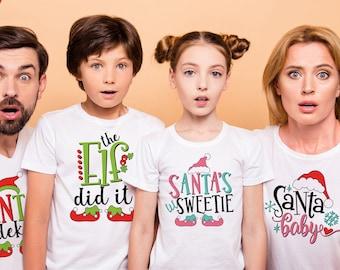 Christmas Family Shirts Family T Shirt Christmas Matching Shirts