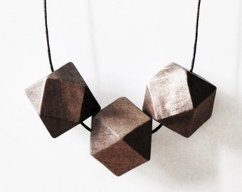 KETTE geometric wood
