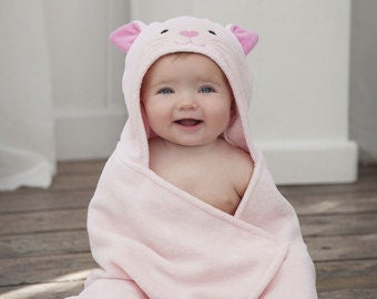NEW!  Reindeer Hooded Bath Towel / Christmas Gift / Baby Bath Towel / Terry Cloth Towel / Animal Hooded Towel / Baby christmas gift