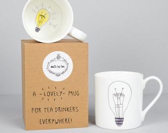 My Thinking Cup Tea Mug - Gift for Teacher - Gift for Student- Mindfulness Mug - Funny Mug- Tea Gifts