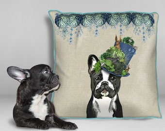 French bulldog gift French bulldog pillows dog pillows french bulldog cushion Frenchie cushion dog lover gift - milliners dog