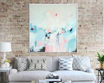 Abstract Art Print , Abstract Seascape, Giclee Print,  Modern Art, Contemporary Art, Home Decor, Wall decor, Wall Art
