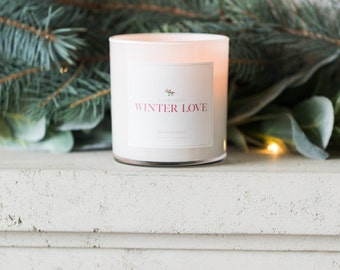 Jillian Harris x Etsy - Winter Love candle by Brand & Iron
