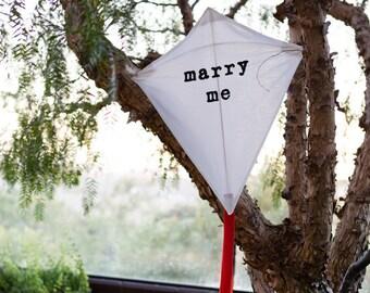 Handmade Kite MARRY ME